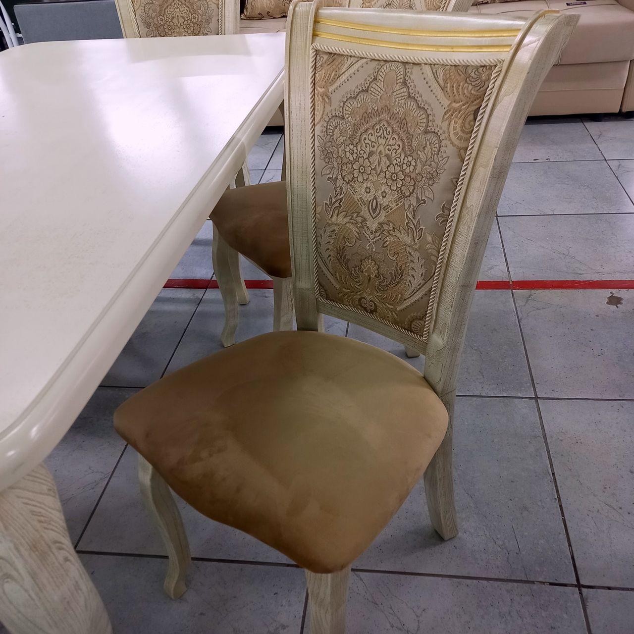 Стол Ева и стулья Маркиз