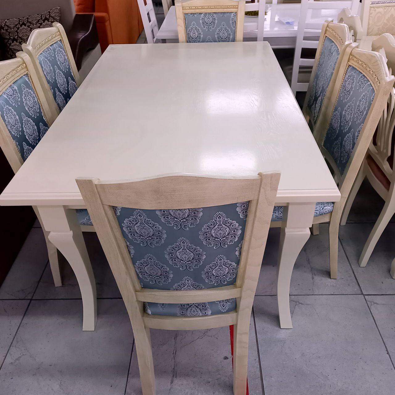 Стол и стулья Лорен
