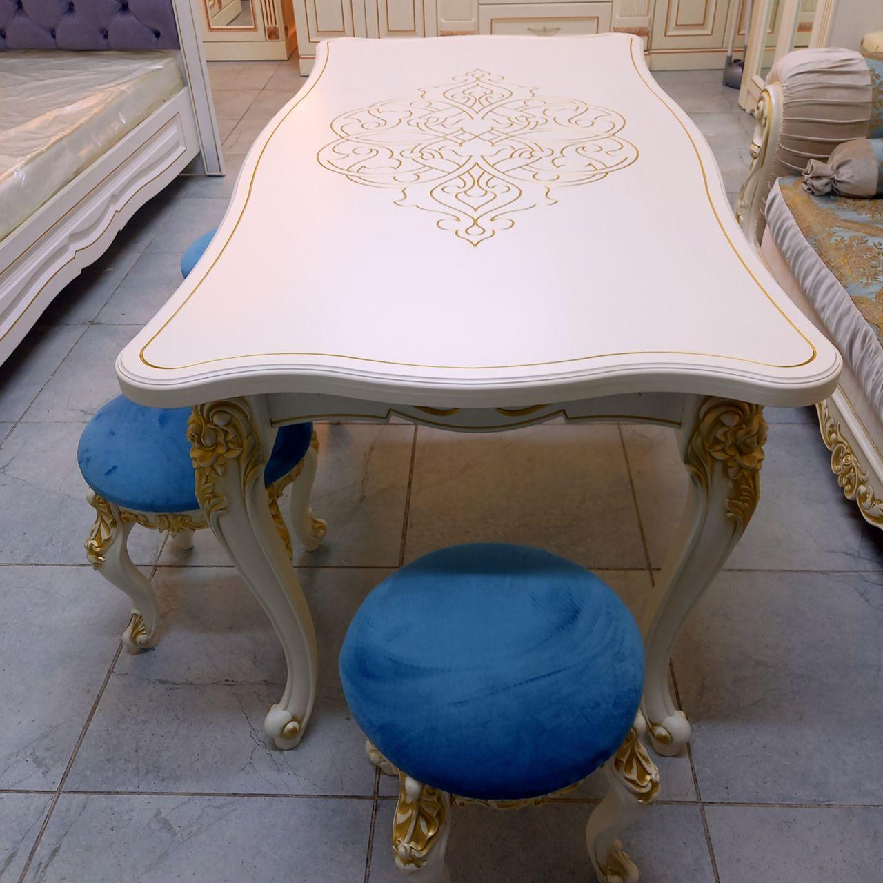 Стол с пуфиками Амир