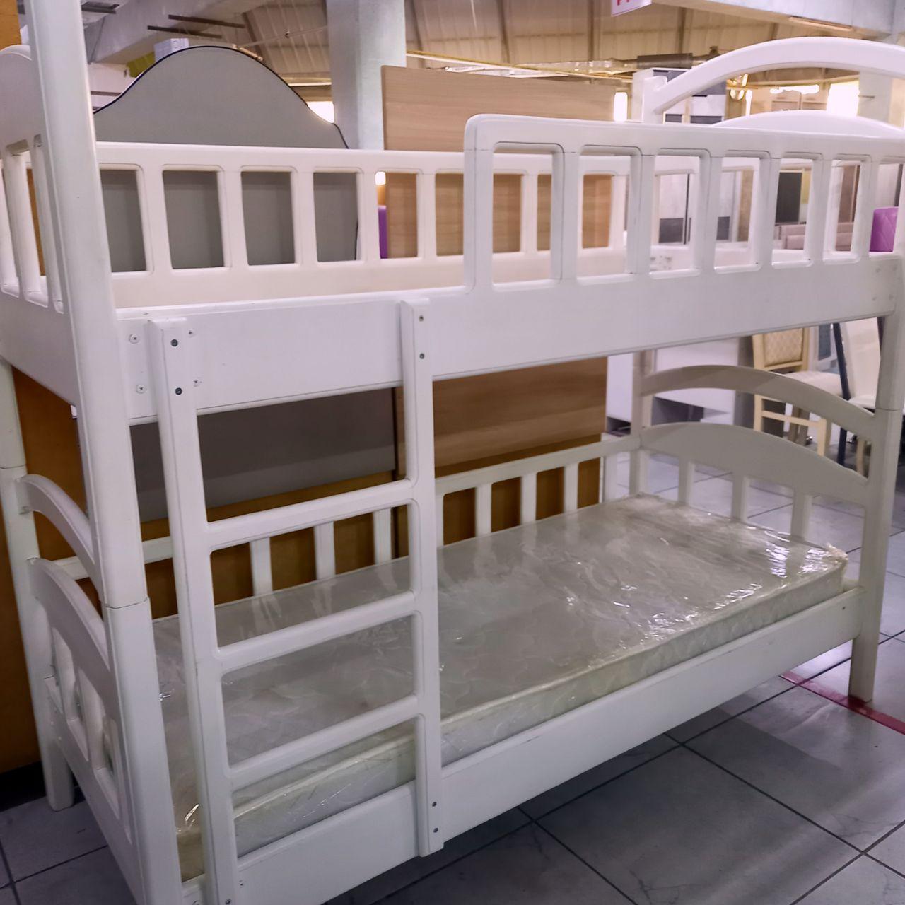 Кровать двухъярусная Сосна