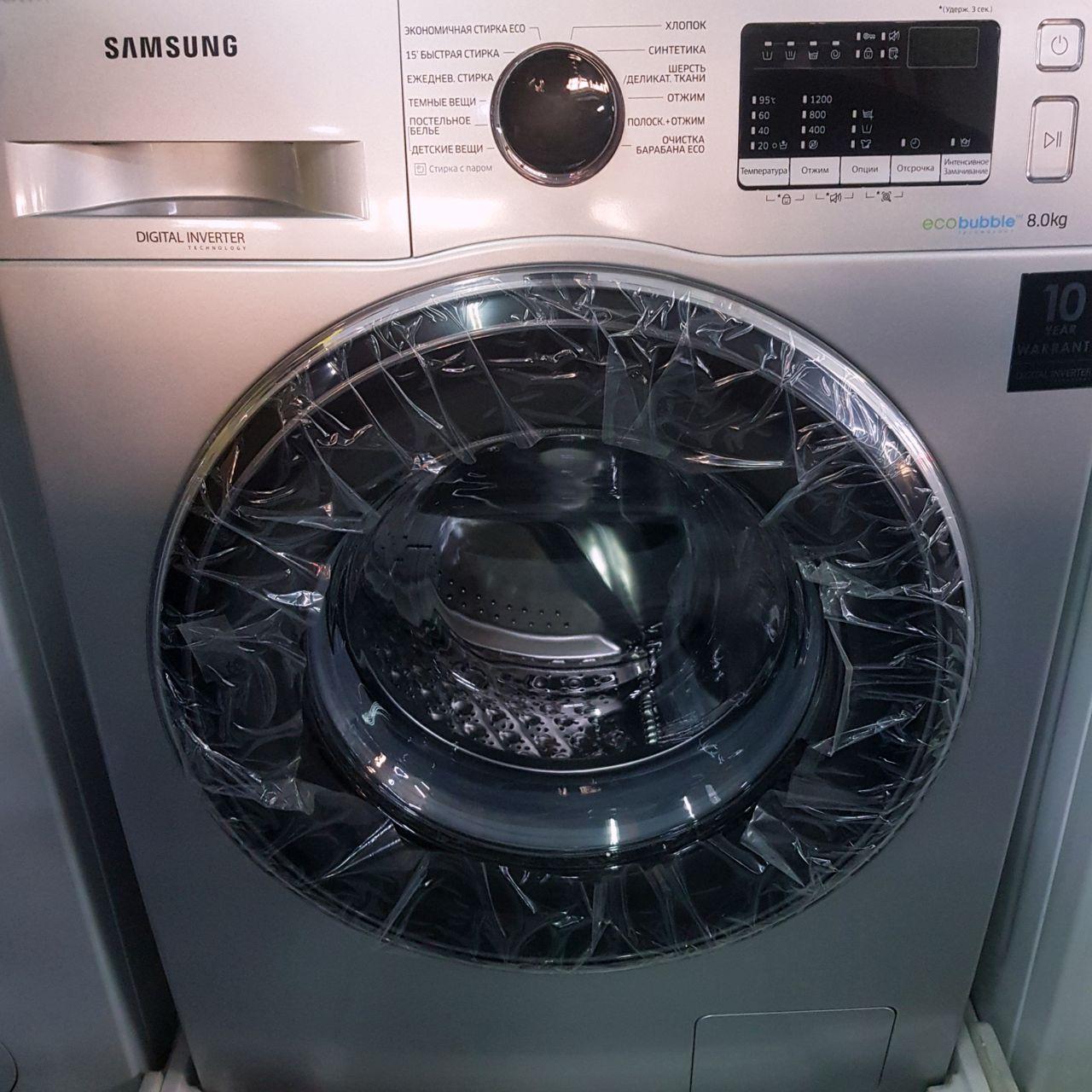 Стиральная машина Samsung Eco Bubble 8 кг