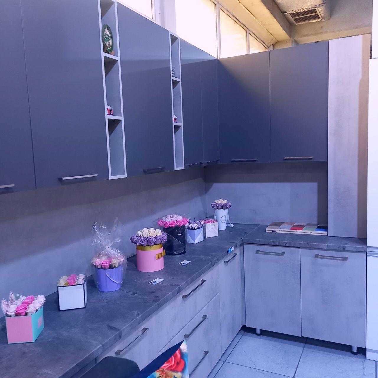 Угловой кухонный гарнитур Бордо