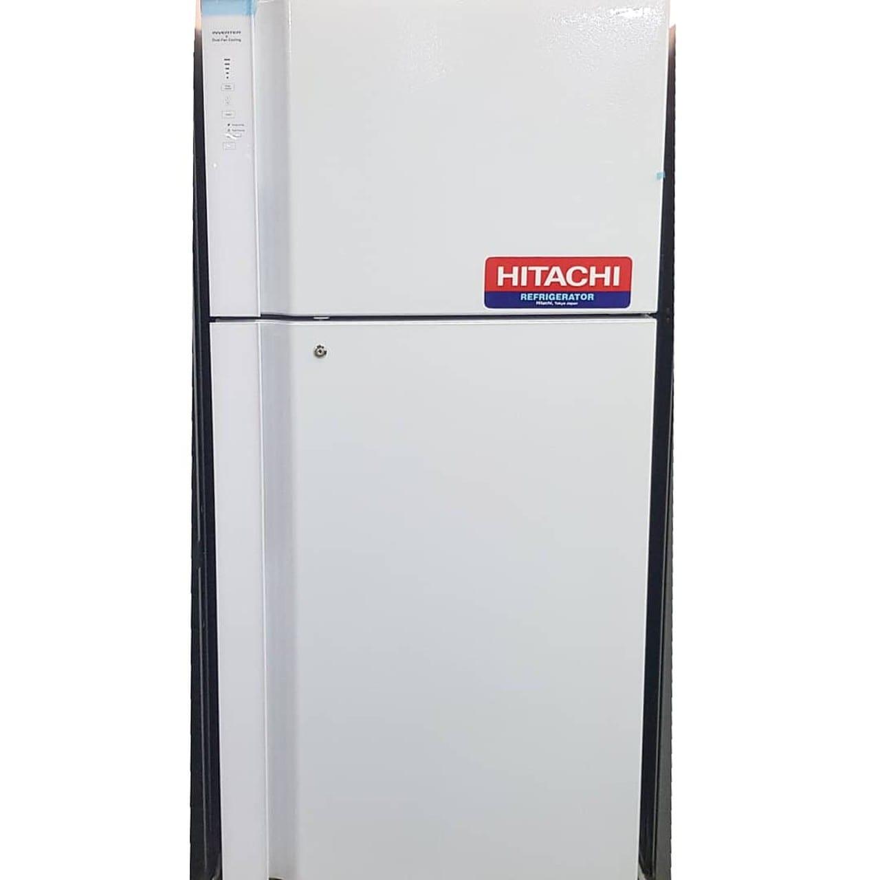 Холодильник двухкамерный Hitachi 550 литров белый