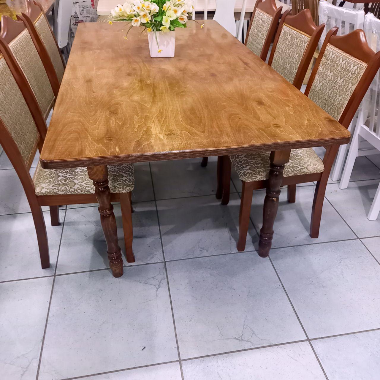 Стол со стульями Мехмед