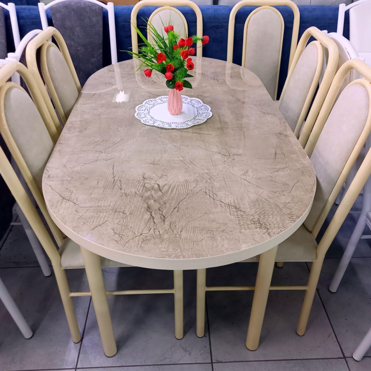 Стол со стульями Асан