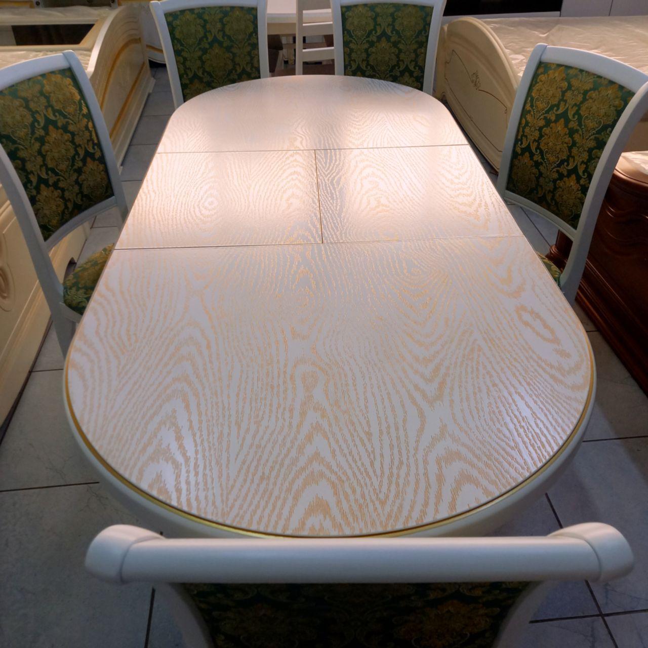 Стол со стульями Кабриоль
