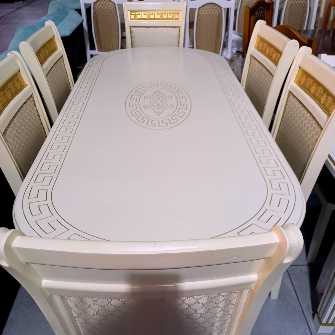 Стол со стульями Лидс