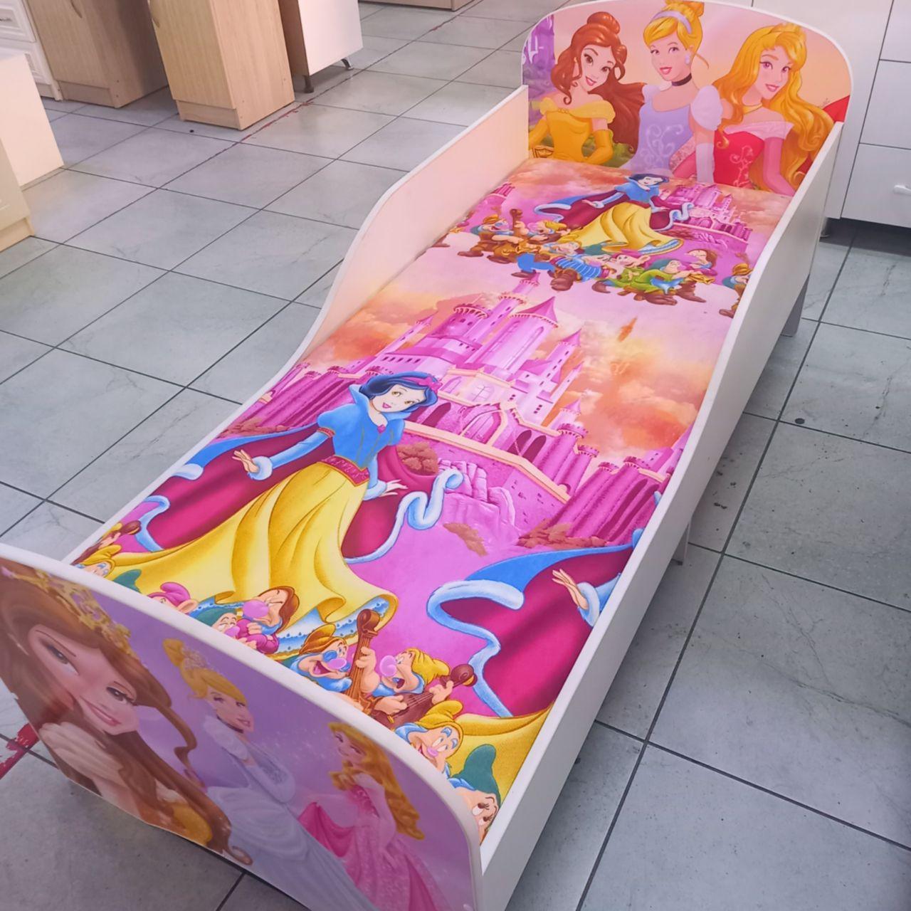 Детские кровать и шкаф-купе Золушка