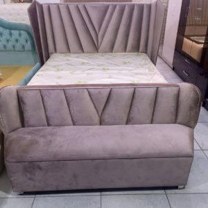 Кровать двуспальная Аро