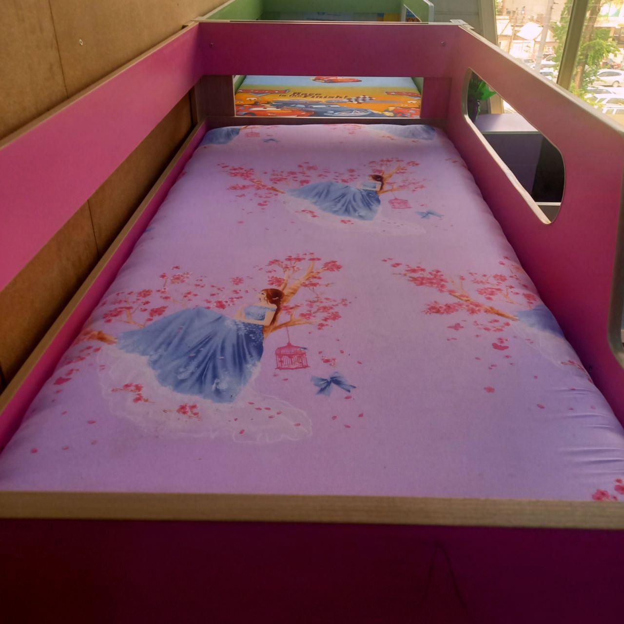 Кровать двухъярусная Рапунцель