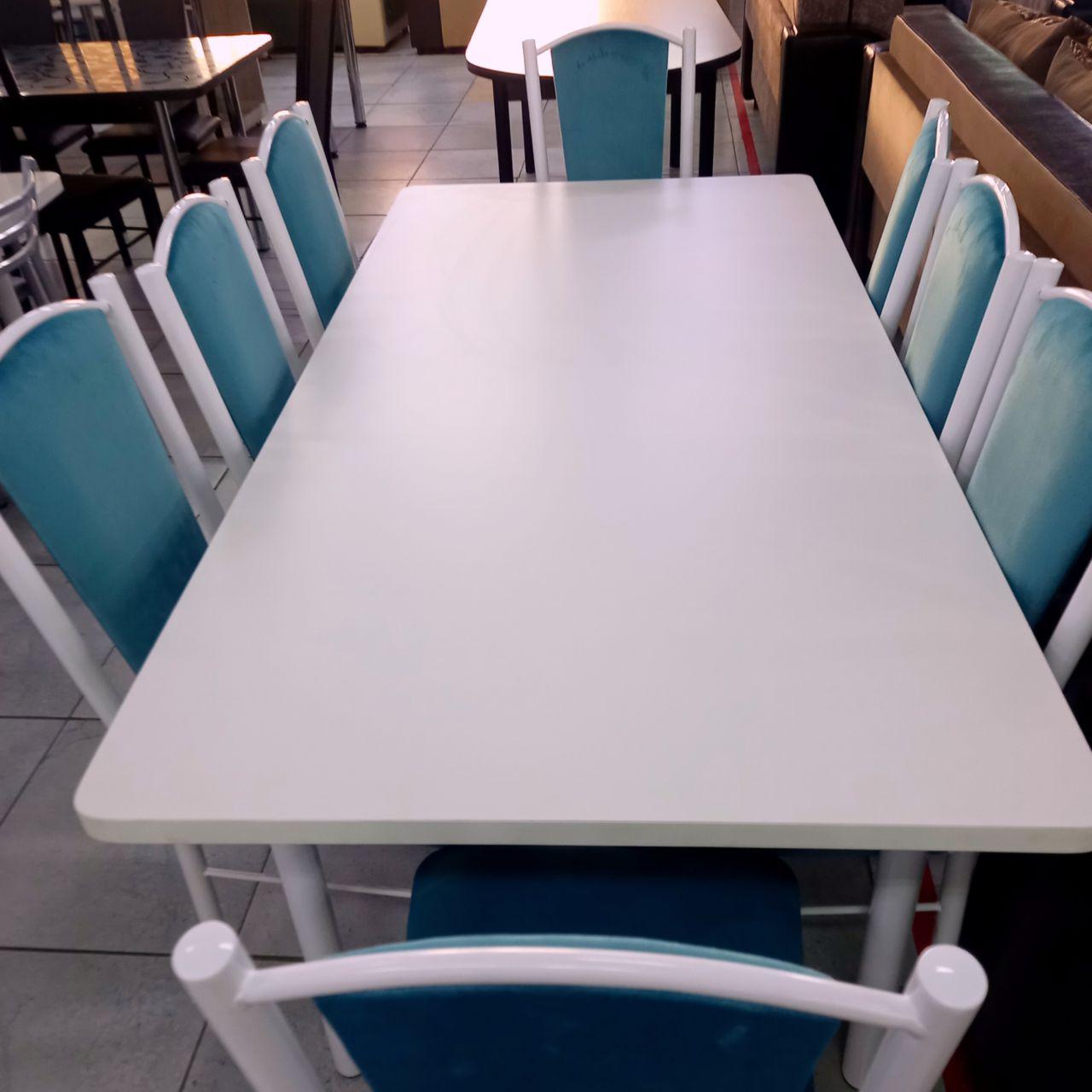 Стол со стульями Мята