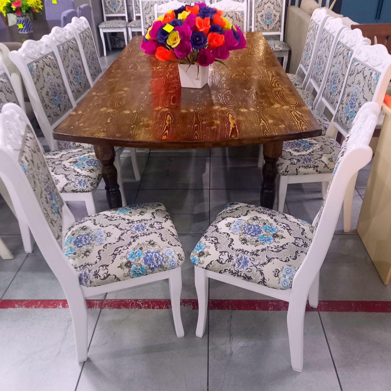 Стол со стульями Бархат