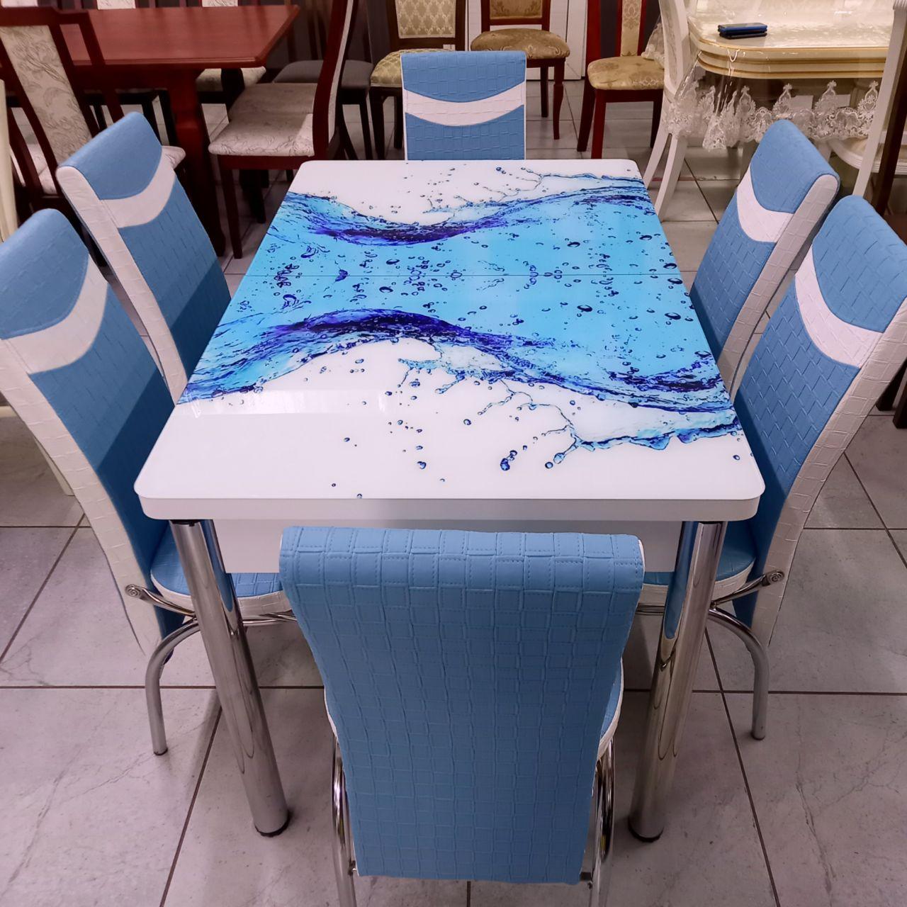 Стол со стульями Бриз