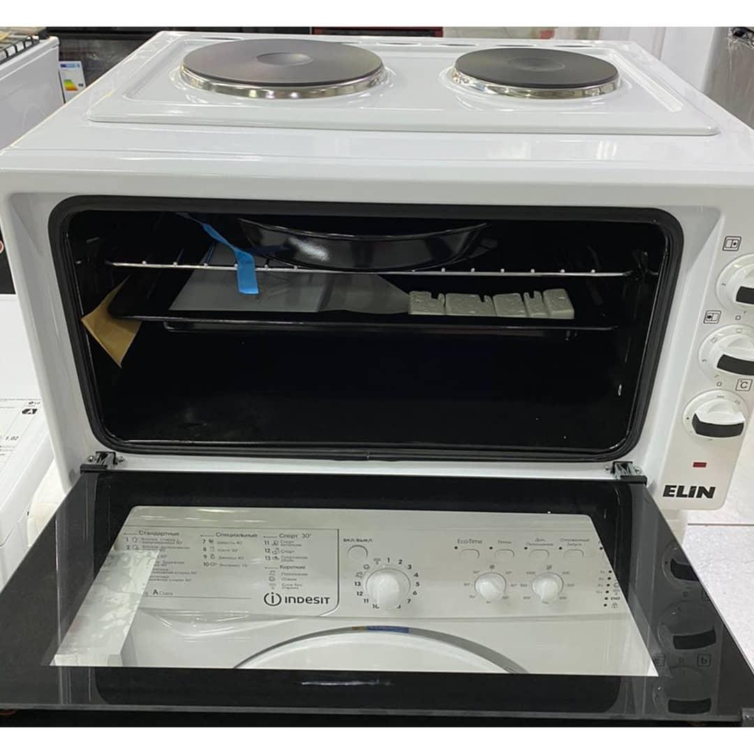 Комбинированная электрическая мини-духовка и мини-плита Elin