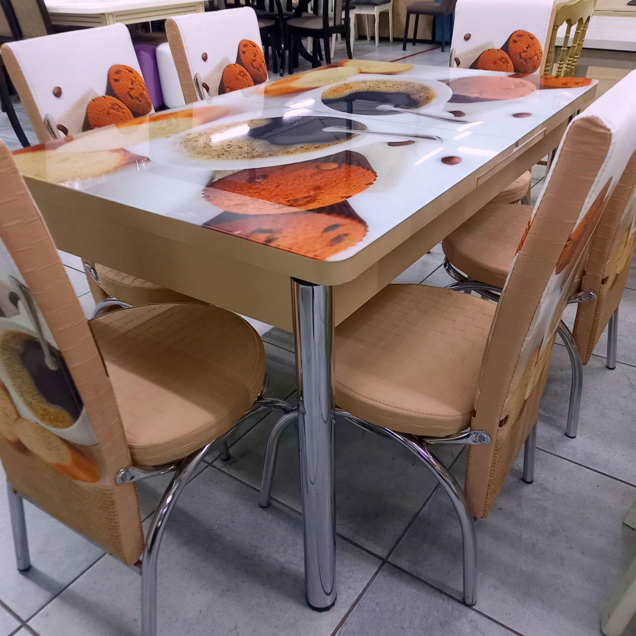 Стол со стульями Берта